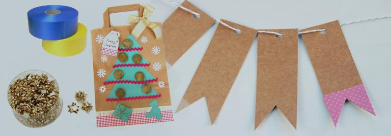 Manualidades con kraft alcaval - Manualidades con papel craft ...