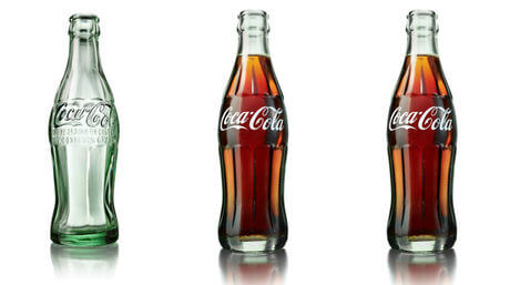 desarrollo botella cocacola