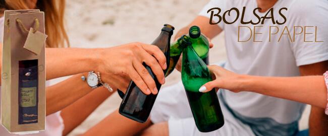 Bolsas de papel para botellines de cerveza artesana