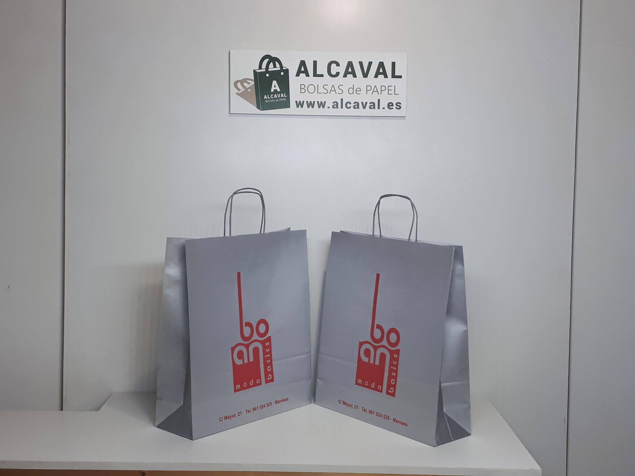 bolsas de papel con tu logotipo para tu negocio