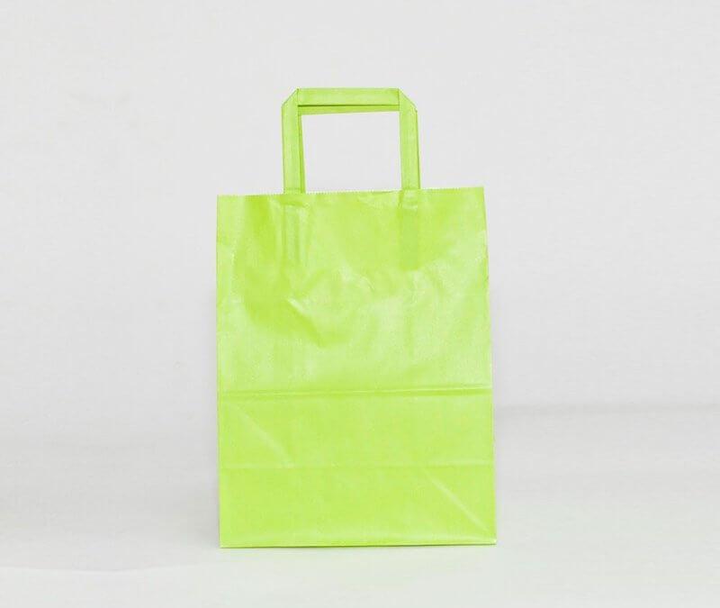 ¿Qué tipos de bolsas de papel existen?