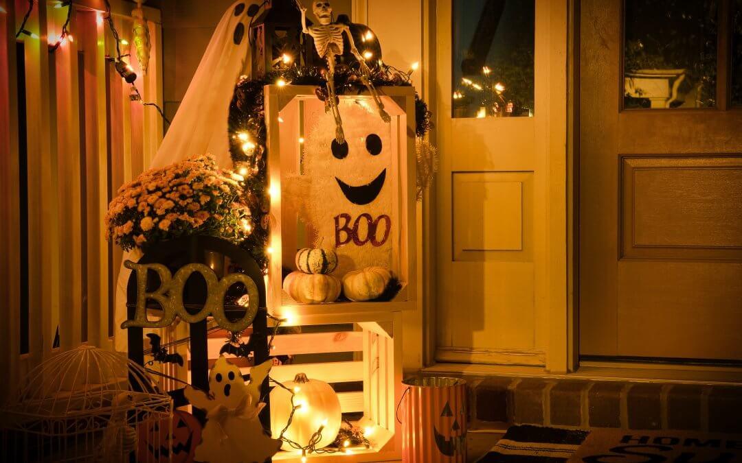 Ideas espeluznantes para Halloween con bolsas de papel