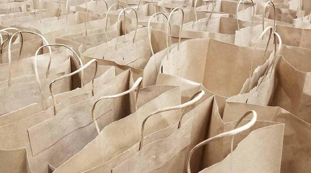 Aumenta un 35% el uso de bolsas de papel en los últimos tres años