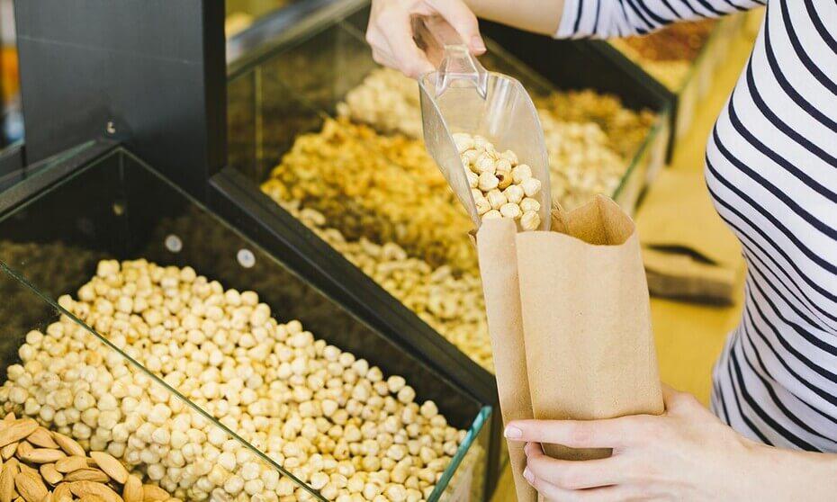 Beneficios de comprar a granel